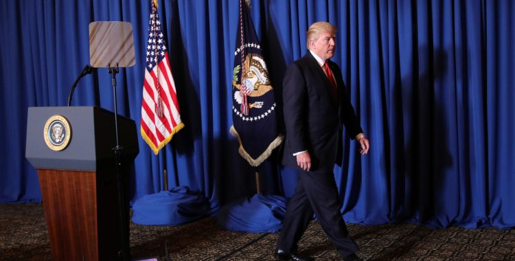 With Syria missile strikes, Trump turns from non-intervention to waging war