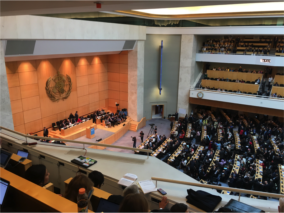 2017-06-04 70th World Health Assembly Featured Photo